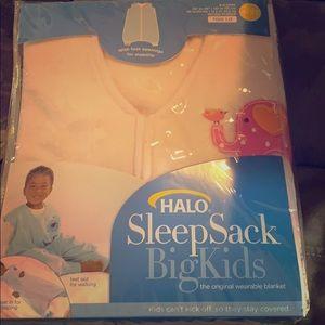 NWT pink Halo Sleep Sack Big Kids 4-5 years